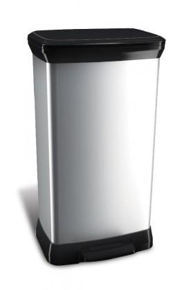 DECOBIN, 50l (plast,stříbrná)