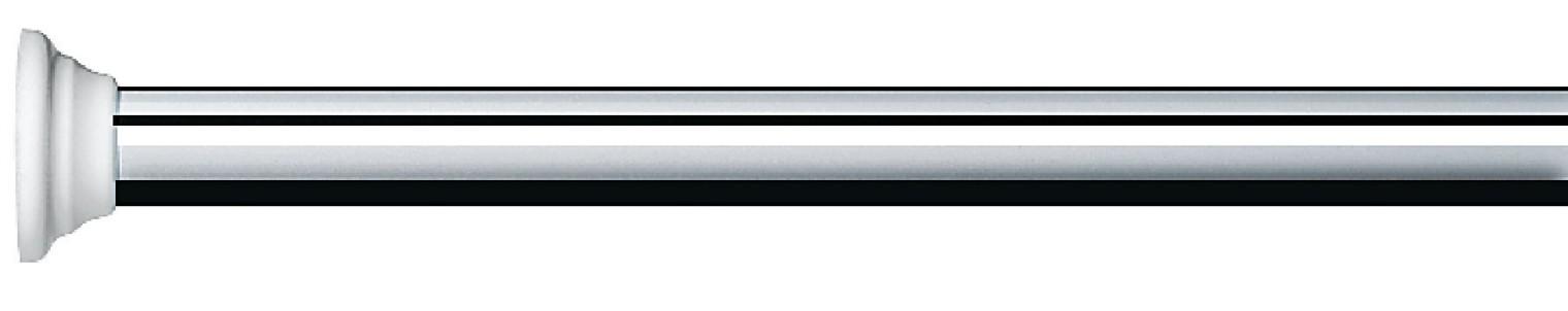 Decor-Tyč BRIGHT-FINISH, 75-125(stříbrná)