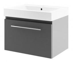 Decora - Skříňka s umyvadlem 70cm (antracit)