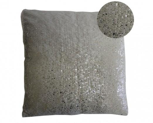 Dekorační polštáře Polštář DP122 (45x45 cm, šedá, stříbrná)
