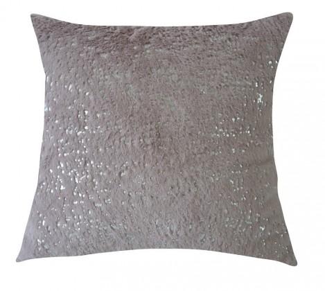 Dekorační polštáře Polštář DP133 (45x45 cm, růžová, stříbrná)