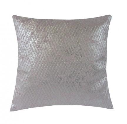 Dekorační polštáře Polštář DP154 (45x45 cm, růžová, stříbrná)