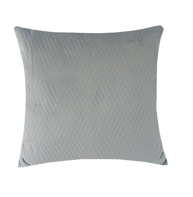 Dekorační polštáře Polštář DP159 (45x45 cm, světle šedá)