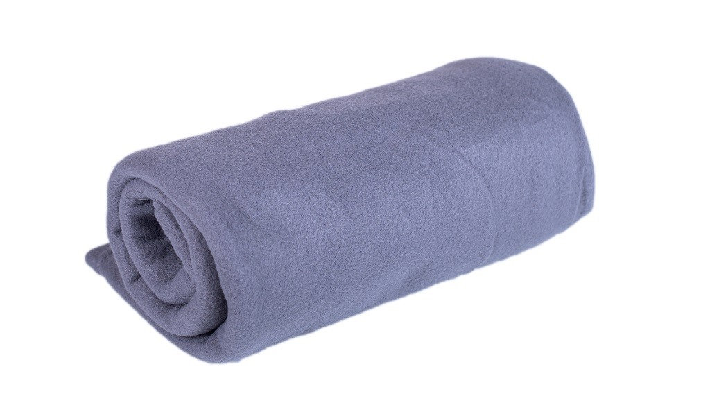 Deky Fleecová deka DF05 (150x200 cm, šedá)