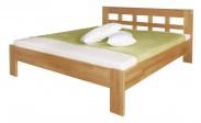 Delana - rám postele, 200x120 (masívní buk, přírodní)