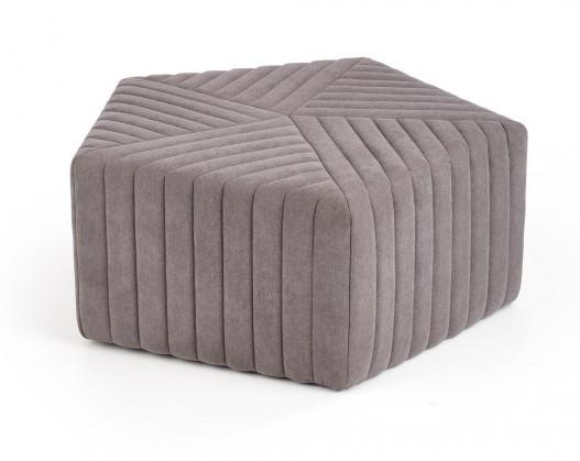 Designové taburety Taburet Mons šedá (látka)