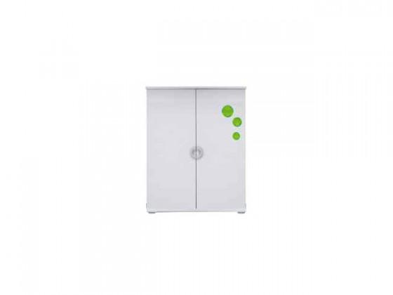 Dětská komoda Manta - Komoda 08 (zelená)