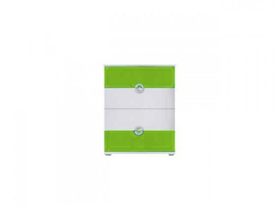 Dětská komoda Manta - Komoda 09 (zelená)