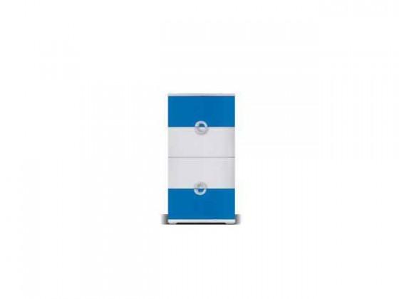 Dětská komoda Manta - Komoda 10 (modrá)