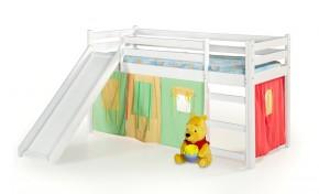 Dětská patrová postel Nava s matrací