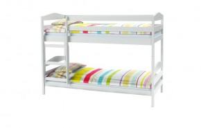 Dětská patrová postel Selina (bílá)