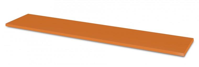 Dětská police Happy Typ 36 (tmavě oranžová )