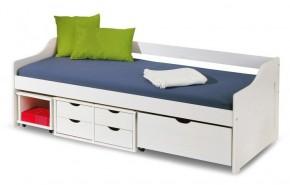 Dětská postel Freja (bílá)
