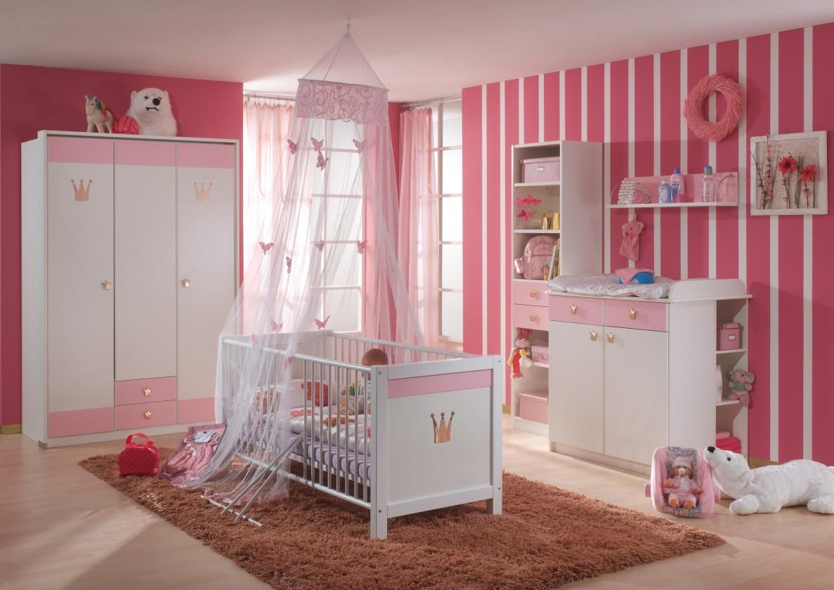 Dětská sestava Cinderella - Set 4 (bílá, růžová)