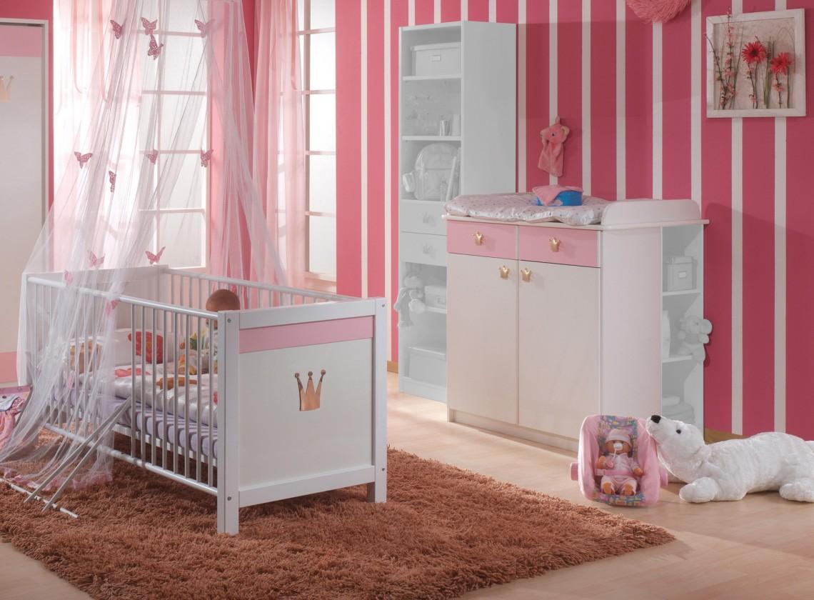 Dětská sestava Cinderella - Set 6 (bílá, růžová)