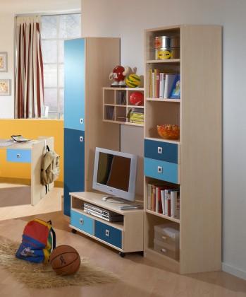 Dětská sestava Sunny - Obývací stěna (námořní modř)