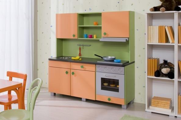 Dětská sestava Teeny (Zelená/Oranžová)