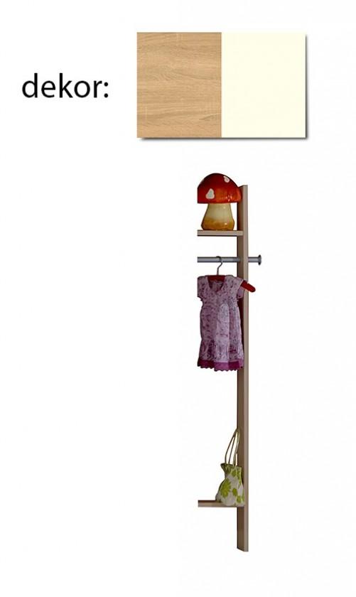 Dětská skříň Elisa 384882 (dub/alpská bílá)