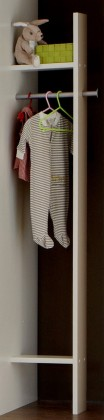 Dětská skříň Filou - Šatník (alpská bílá)