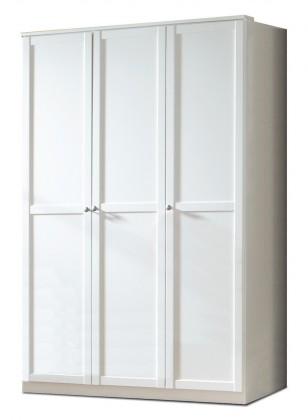 Dětská skříň Filou - Skříň třídveřová (alpská bílá)