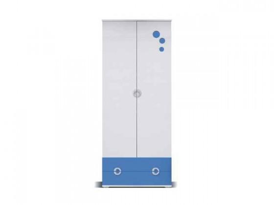 Dětská skříň Manta - Skříň 01 (modrá)