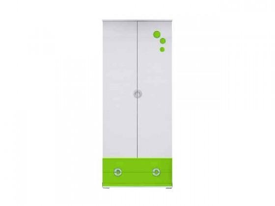 Dětská skříň Manta - Skříň 01 (zelená)