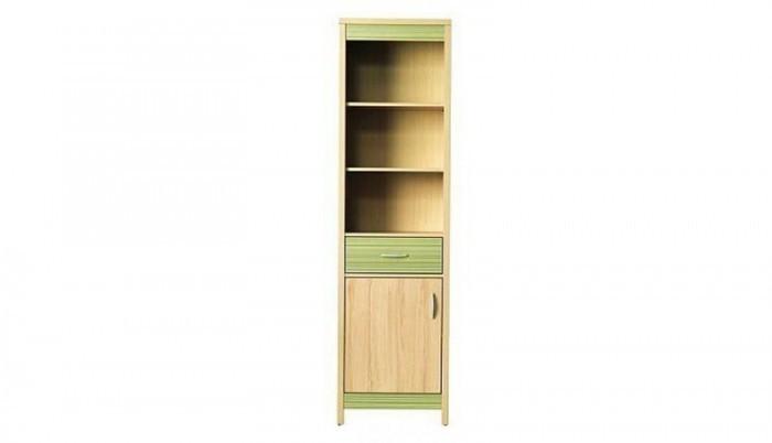 Dětská skříň Monza - skříň, CD6 (višeň cornvall, zelená)