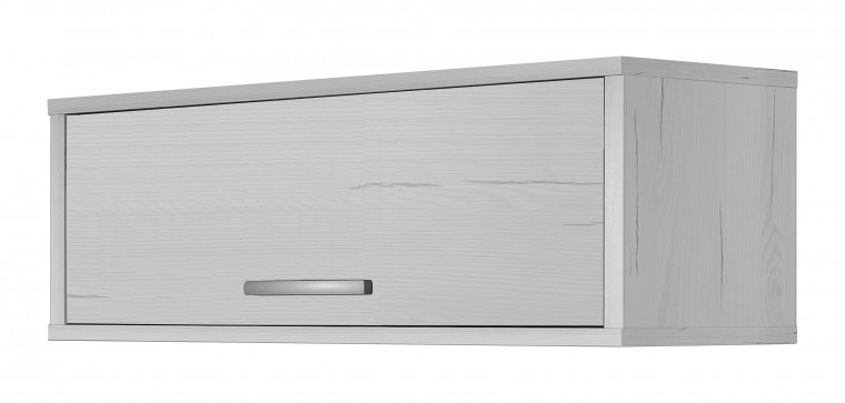 Dětská skříň Pine Aurélio - Závěsná skříňka typ 42 (bílá)