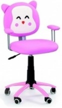Dětská židle Kitty (růžová)