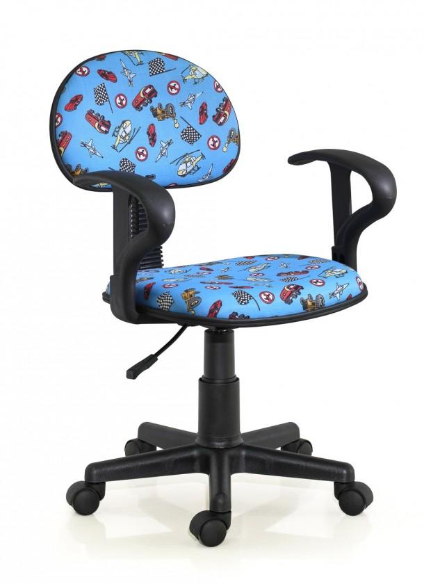 Dětská židle, křeslo Alfred - dětská židle (modrý)