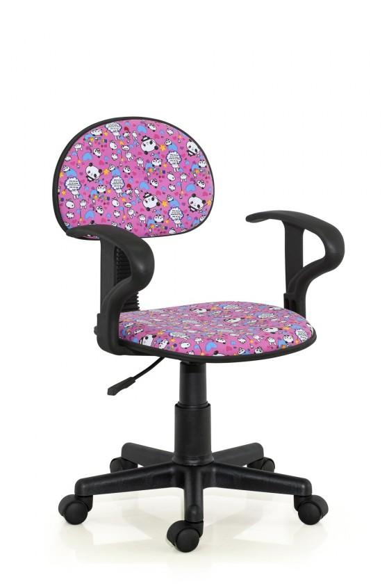 Dětská židle, křeslo Alfred - dětská židle (růžový)