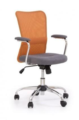 Dětská židle, křeslo Andy (Oranžová)