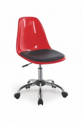 Dětská židle, křeslo Coco II (Červeno-černá)