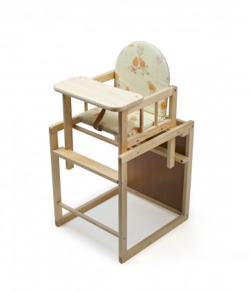 Dětská židle, křeslo Dětské křeslo, dřevěné, rozkládací, 87x48x44 cm (borovice)