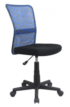Dětská židle, křeslo Dingo (Modro-černá)