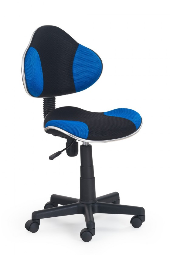 Dětská židle, křeslo Flash - dětská židle (modro-černá)