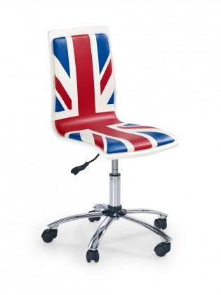 Dětská židle, křeslo Fun 10 - dětská židle (červeno-modrá)