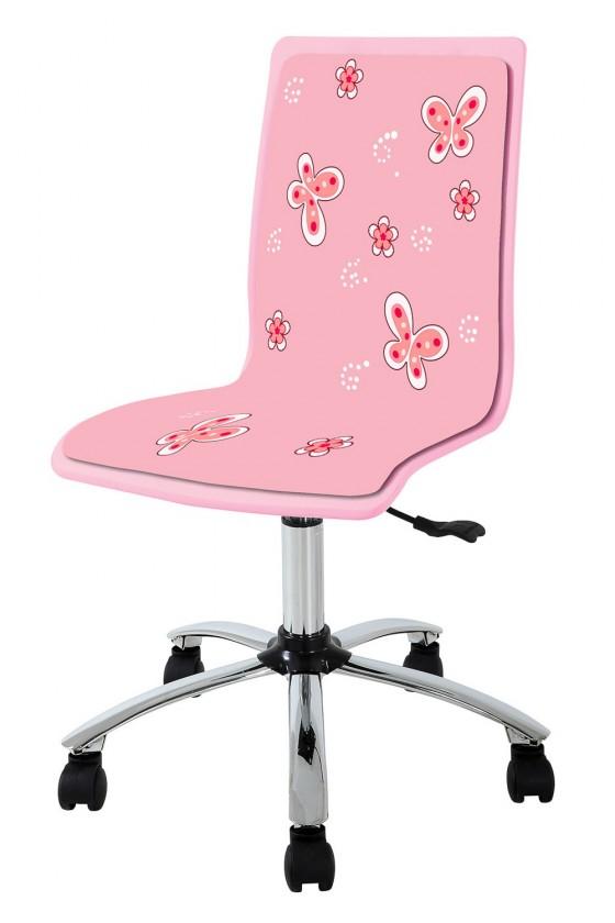 Dětská židle, křeslo Fun 11 - dětská židle (růžová)