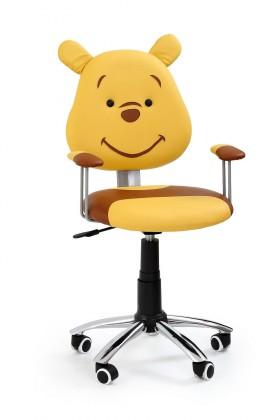Dětská židle, křeslo Kubus - dětská židle (hnědá)