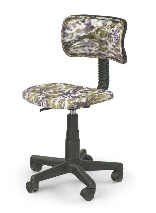 Dětská židle, křeslo Moro - dětská židle (zeleno-černá)