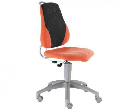 Dětská židle, křeslo Neon (černá/oranžová)
