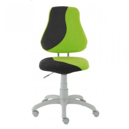 Dětská židle, křeslo Neon (černá/zelená)