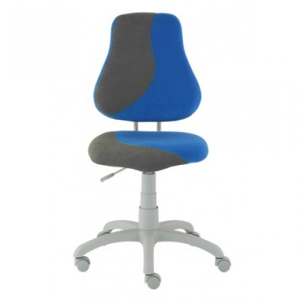 Dětská židle, křeslo Neon S-line (šedá/modrá)