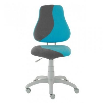 Dětská židle, křeslo Neon S-line (šedá/světle modrá)