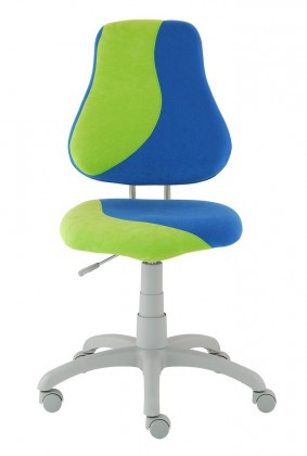Dětská židle, křeslo Neon S-line (zelená/modrá)