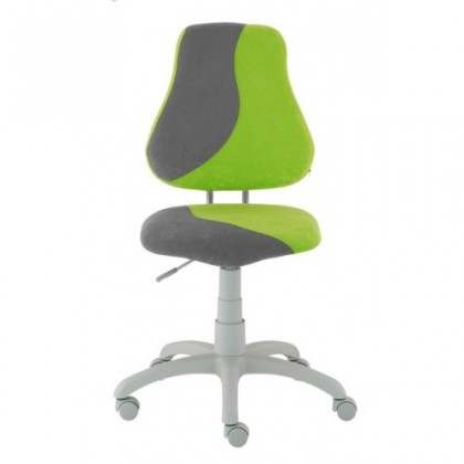 Dětská židle, křeslo Neon (šedá/zelená)