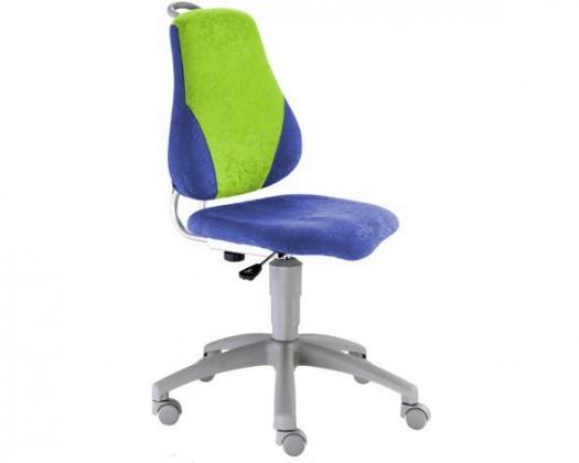 Dětská židle, křeslo Neon V-line (zelená/modrá)