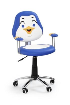 Dětská židle, křeslo Pinguin - dětská židle (modrá)