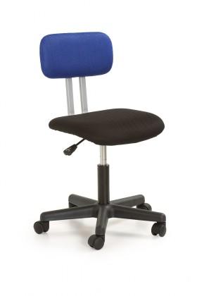 Dětská židle, křeslo Play - dětská židle (černo-modrá)