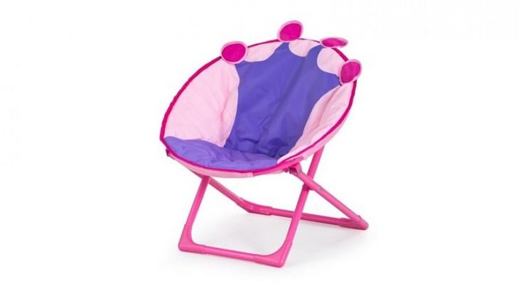 Dětská židle, křeslo Queen (růžová)